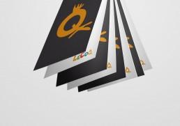 Design at visitkort