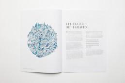 Grafisk Design af magasin